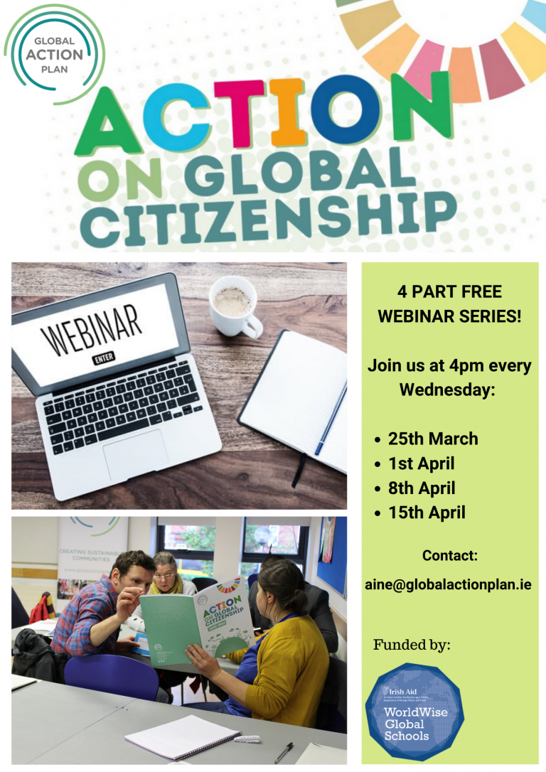 FREE 4 part Webinar: Action on Global Citizenship