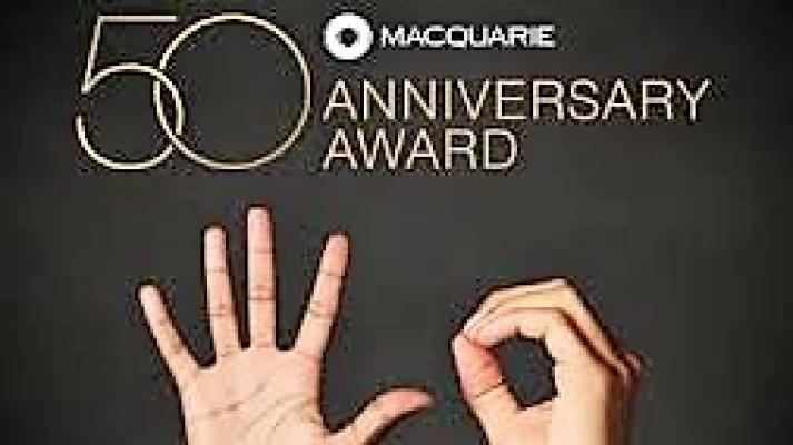 50th Macquarie Group Anniversary Award