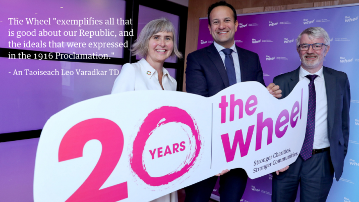 An Taoiseach Leo Varadkar TD The Wheel