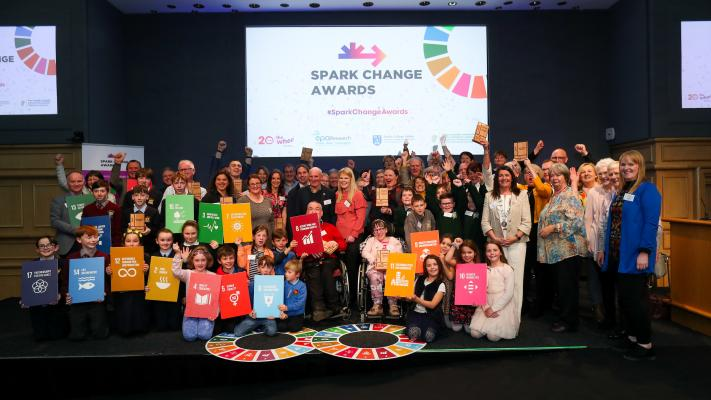 Spark Change Awards Winners