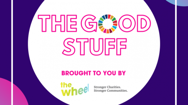 Logo for The Good Stuff Podcast