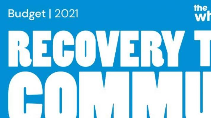 Budget 2021: Recovery Through Community